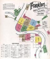 Plate 001, Title Page, Index Map, Frankfort 1901